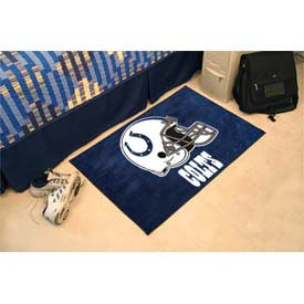 "Indianapolis Colts Helmet Starter Rug 20"" x 30"""