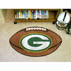 "Green Bay Packers Football Rug 22"" x 35"""