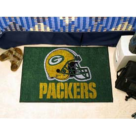 "Green Bay Packers Helmet Starter Rug 20"" x 30"""
