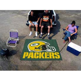 """Green Bay Packers Tailgater Rug 60"""" x 72"""""""