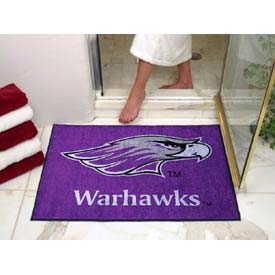 "Wisconsin-Whitewater All-Star Rug 34"" x 45"""