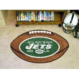 "New York Jets Football Rug 22"" x 35"""
