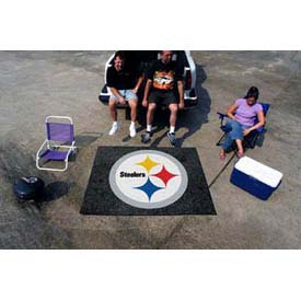"Pittsburgh Steelers Tailgater Rug 60"" x 72"""
