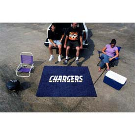"""San Diego Chargers Tailgater Rug 60"""" x 72"""""""