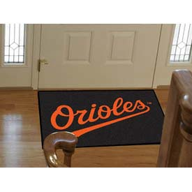 """Baltimore Orioles All-Star Rug 34"""" x 45"""""""