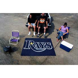 """Tampa Bay Rays Tailgater Rug 60"""" x 72"""""""