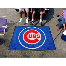 """Chicago Cubs Tailgater Rug 60"""" x 72"""""""