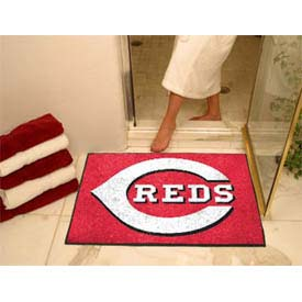 "Cincinnati Reds All-Star Rug 34"" x 45"""