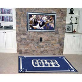 "Indianapolis Colts Rug 5 x 8 60"" x 92"""