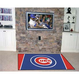 """Chicago Cubs Rug 4 x 6 46"""" x 72"""""""
