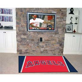 "Los Angeles Angels Rug 4 x 6 46"" x 72"""