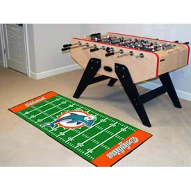 """Miami Dolphins Runner 30"""" x 72"""""""