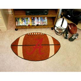 "Alabama Football Rug 22"" x 35"""