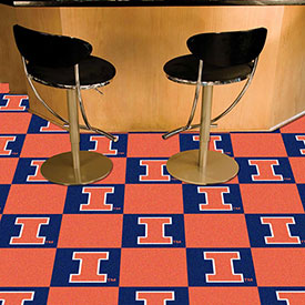 "Illinois Carpet Tiles 18"" x 18"" Tiles"