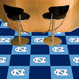 "UNC North Carolina - Chapel Hill Carpet Tiles 18"" x 18"" Tiles"