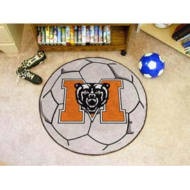 "Mercer Soccer Ball Rug 29"" Dia."