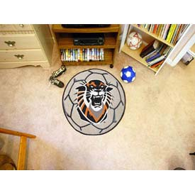 """Fort Hays State Soccer Ball Rug 29"""" Dia."""