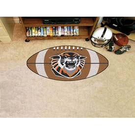 """Fort Hays State Football Rug 22"""" x 35"""""""