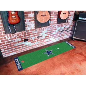 "Dallas Cowboys Putting Green Runner 18"" x 72"""