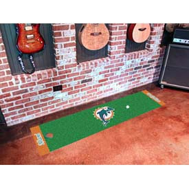 "Miami Dolphins Putting Green Runner 18"" x 72"""