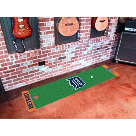 "Detroit Tigers Putting Green Runner 18"" x 72"""
