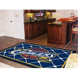 "Cleveland Cavaliers Rug 5 x 8 60"" x 92"""