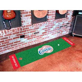 "Los Angeles Clippers Putting Green Runner 18"" x 72"""