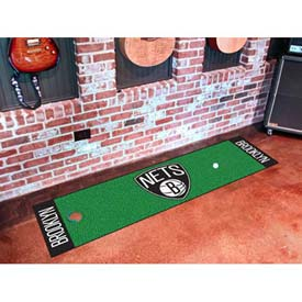 "Brooklyn Nets Putting Green Runner 18"" x 72"""