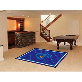 "New Orleans Hornets Rug 5 x 8 60"" x 92"""