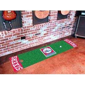"Philadelphia 76ers Putting Green Runner 18"" x 72"""