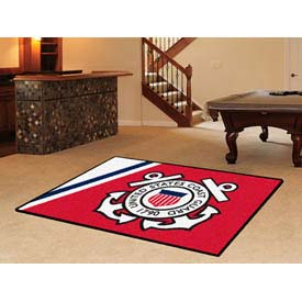 "US Coast Guard Rug 5 x 8 60"" x 92"""