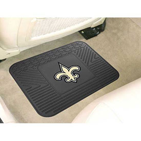 "NFL - New Orleans Saints - Heavy Duty Vinyl Utility Mat 14"" x 17"" - 9993"