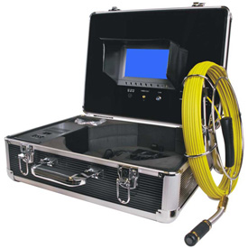 FORBEST FB-PIC3188D-65 Portable Color Sewer/Drain Camera, 65' Cable W/ Aluminum Case