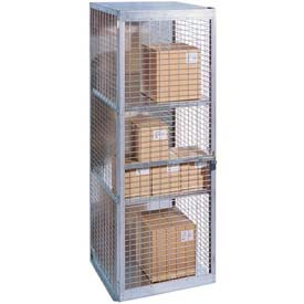 "Stor-More® Loss Prevention Security Cabinet/Locker 48""W X 18""D X 96""H W/Hinged Single Door"