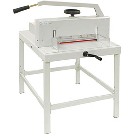 """Formax Paper Guillotine Cutter, 2.15""""H Paper Cutter, 16.9"""" Cutting Length by"""