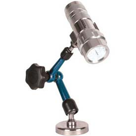 Fowler 52-630-460 Articulating Arm Magnetic Base with LED Flashlight by