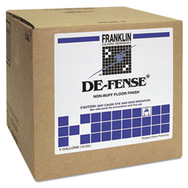 De-Fense® Non-Buff Floor Finish, 5 Gallon Cube - FKLF135025