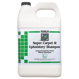 Franklin® Super Carpet & Upholstery Shampoo, Gallon Bottle 4/Case - FKLF538022CT