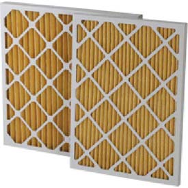 "Filtration Manufacturing 0211-12242 Pleated Filter, Merv 11, 12""W x 24""H x 2""D - Pkg Qty 12"