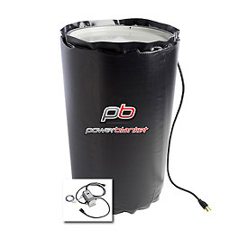 Powerblanket® Insulated Drum Heater BH15PRO Gal Cap 145°F Adjustable