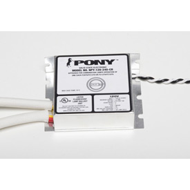 Fulham Npy-120-240-Cr Pony - 120v - 1 X 22w + 32w T9 Circle; Or 1 X 32w + 40w T9 Circle