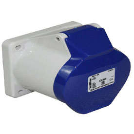 Walther Electric 430509, Female Receptacle, 30/32A, 5P, 230/250Vac, 9 Hr, IP44