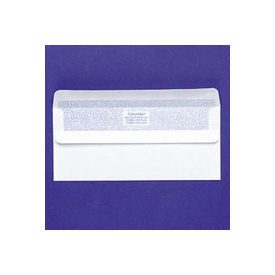 #10 Self-Seal White Business Envelopes with Inside Tint, 4-1/8 x 9-1/2, 100/Box by