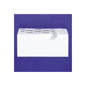 White Wove Grip Seal® Business Envelopes, #10, Regular, 50/Box