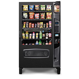 Selectivend 5W Dual Zone - Vending Machine, Refrigerated, 40 Selections, 20 Snacks & 20 Drinks