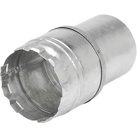 "AmeriVent 3""Dia. X 60""L Flexible Connector - Pkg Qty 6"