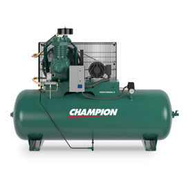 Champion CCSRVAGI05, 2 Stage Electric Air Compressor HRV5-8, 5 HP, 80 Gal, 208V, 1PH, 3600rpm by
