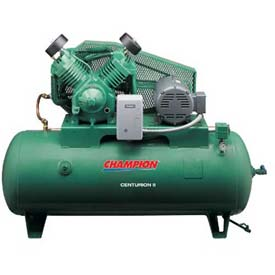 Champion CCSRVAGI45, Two-Stage Electric Air Compressor HRV10-8, 10 HP, 80 Gal, 208V, 3PH by