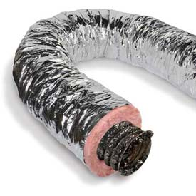 "Master Flow®  Flexible Duct R6, 4""Dia. X 25'L"