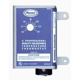 Master Flow® Thermostat Master Flow Power Vents - Pkg Qty 6